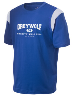 Greywolf Elementary School Wolf Pups Holloway Men's Rush T-Shirt