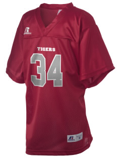 Jim Bloggs School Tigers Russell Kid's Replica Football Jersey