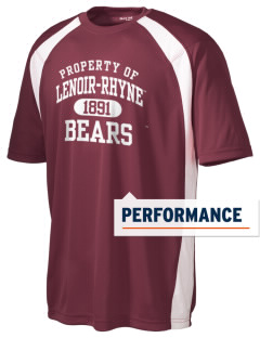 Lenoir-Rhyne University Bears Men's Dry Zone Colorblock T-Shirt