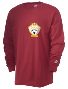 Angola Soccer  Russell Men's Long Sleeve T-Shirt