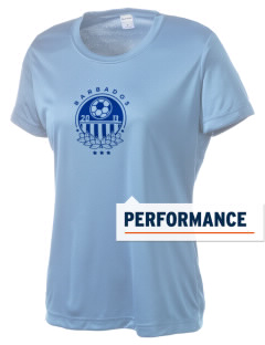 Barbados Soccer Women's Competitor Performance T-Shirt