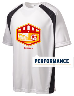Bhutan Soccer Men's Dry Zone Colorblock T-Shirt