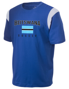 Botswana Soccer Holloway Men's Rush T-Shirt