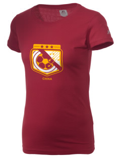 China Soccer  Russell Women's Campus T-Shirt