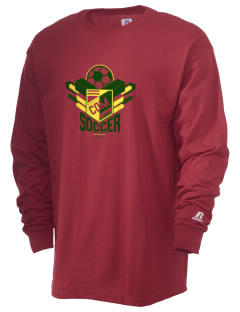 Comoros Soccer  Russell Men's Long Sleeve T-Shirt