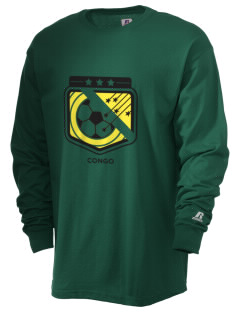 Congo Soccer  Russell Men's Long Sleeve T-Shirt