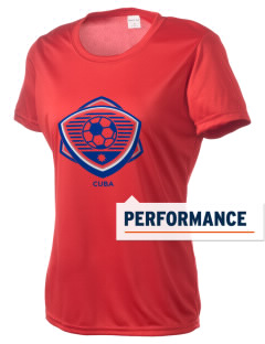 Cuba Soccer Women's Competitor Performance T-Shirt