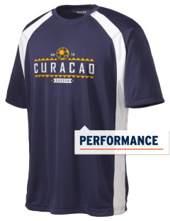 Curacao Soccer Men's Dry Zone Colorblock T-Shirt