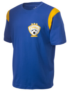 Cyprus Soccer Holloway Men's Rush T-Shirt