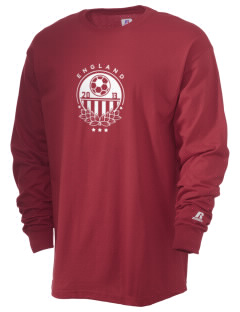 England Soccer  Russell Men's Long Sleeve T-Shirt