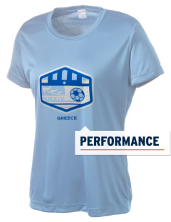 Greece Soccer Women's Competitor Performance T-Shirt