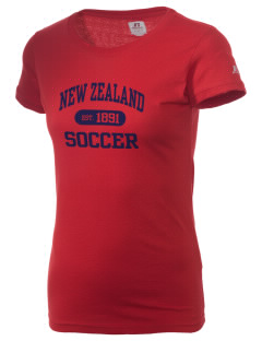 New Zealand Soccer  Russell Women's Campus T-Shirt