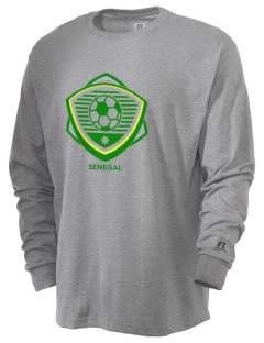 Senegal Soccer  Russell Men's Long Sleeve T-Shirt