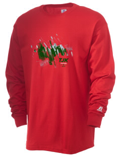 Tajikistan Soccer  Russell Men's Long Sleeve T-Shirt