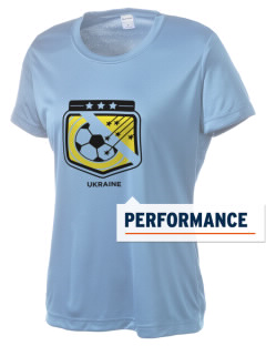 Ukraine Soccer Women's Competitor Performance T-Shirt