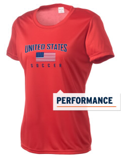United States Soccer Women's Competitor Performance T-Shirt