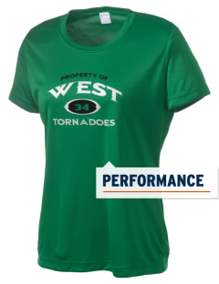 West Elementary School tornadoes Women's Competitor Performance T-Shirt