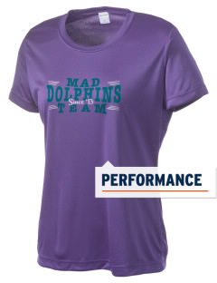 Marvin A Dutcher Elementary School Dolphins Women's Competitor Performance T-Shirt