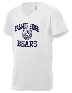 Palmer Ridge High School Bears Kid's V-Neck Jersey T-Shirt