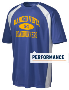 Rancho Vista Elementary School Roadrunners Men's Dry Zone Colorblock T-Shirt