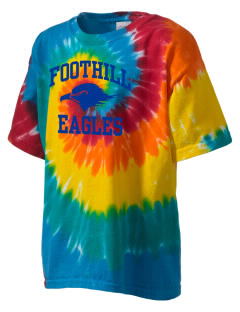 Foothill Middle School Eagles Kid's Tie-Dye T-Shirt