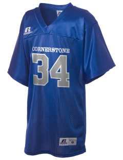 Cornerstone School Cougars Russell Kid's Replica Football Jersey