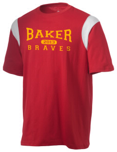 Baker Elementary School Braves Holloway Men's Rush T-Shirt