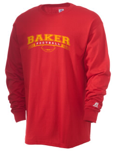 Baker Elementary School Braves  Russell Men's Long Sleeve T-Shirt