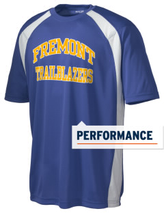 Fremont Middle School Trailblazers Men's Dry Zone Colorblock T-Shirt