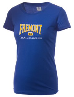 Fremont Middle School Trailblazers  Russell Women's Campus T-Shirt