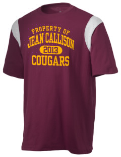 Jean Callison Elementary School Cougars Holloway Men's Rush T-Shirt