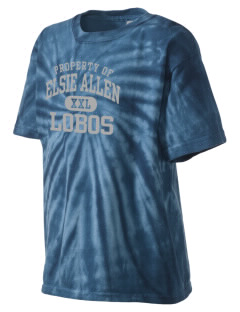 Elsie Allen High School Lobos Kid's Tie-Dye T-Shirt