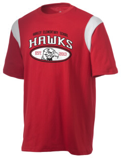 Hurley Elementary School Hawks Holloway Men's Rush T-Shirt
