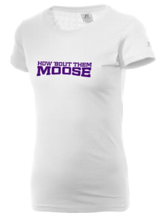 Alamosa Open High School Moose  Russell Women's Campus T-Shirt
