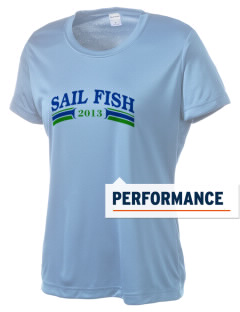 Felix A Williams Elementary School Sail Fish Women's Competitor Performance T-Shirt