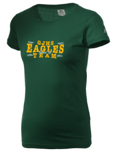 George Jenkins High School Eagles  Russell Women's Campus T-Shirt