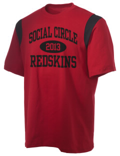 Social Circle Middle School Redskins Holloway Men's Rush T-Shirt