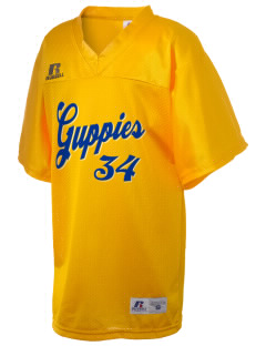 Grant Elementary School Guppies Russell Kid's Replica Football Jersey