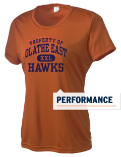 Olathe East High School Hawks Women's Competitor Performance T-Shirt