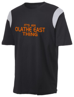 Olathe East High School Hawks Holloway Men's Rush T-Shirt