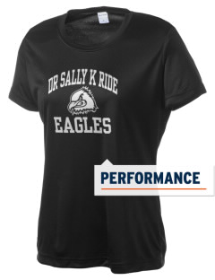 Dr Sally K Ride Elementary School Eagles Women's Competitor Performance T-Shirt