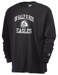 Dr Sally K Ride Elementary School Eagles  Russell Men's Long Sleeve T-Shirt