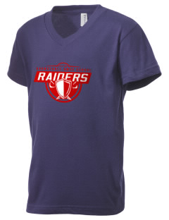 Barnstable HMCS School Raiders Kid's V-Neck Jersey T-Shirt