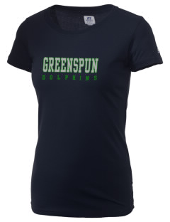 Greenspun Junior High School Dolphins  Russell Women's Campus T-Shirt