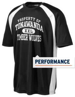Tonawanda Junior High School Timber Wolves Men's Dry Zone Colorblock T-Shirt