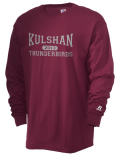 Kulshan Middle School Thunderbirds  Russell Men's Long Sleeve T-Shirt