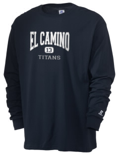 El Camino Junior High School Titans  Russell Men's Long Sleeve T-Shirt
