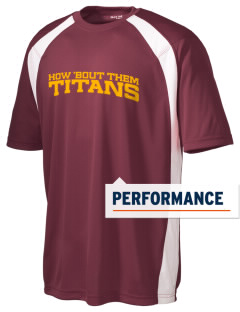 Agbu Manoogian Demirdjian School Titans Men's Dry Zone Colorblock T-Shirt