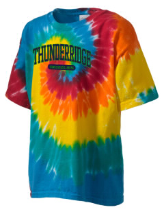 ThunderRidge High School Grizzlies Kid's Tie-Dye T-Shirt