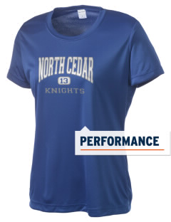 North Cedar Middle School Knights Women's Competitor Performance T-Shirt